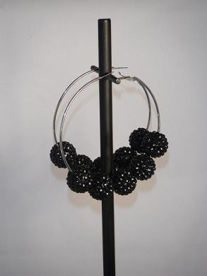 Black Basketball Wives Earrings