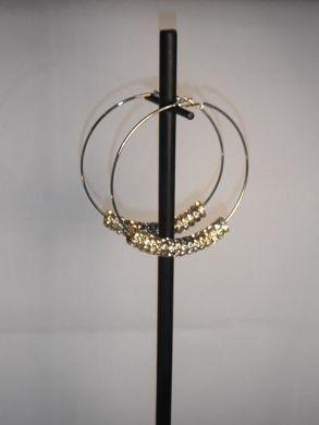 Gold Basketball Wives Earrings