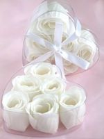 Rose Petal Soap White