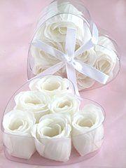 Rose Petal Soap White