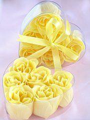 Rose Petal Soap Yellow