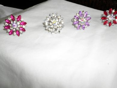 Daisy Design Rings