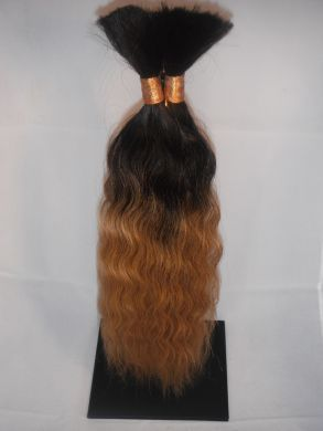 Wet and Wavy Bulk(braid) Hair