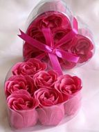 Rose Petal Soap Fuschia